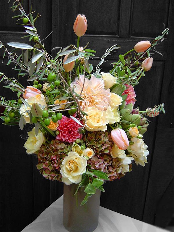 Cafe au Lait Floral Arrangement