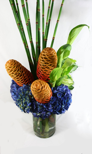 Honeycomb Flower Arrangement