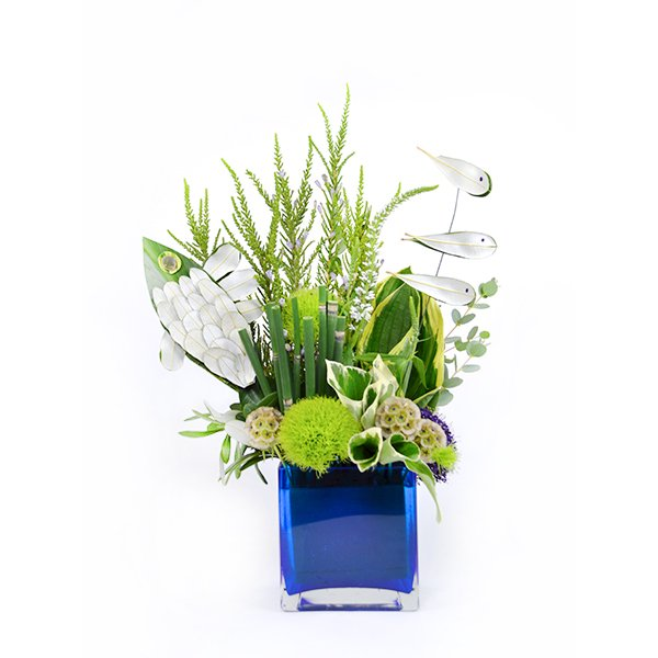 Fishy Flower Arrangement | San Francisco Florist Since 1871 Free Bay Area and San Francisco Flower Delivery