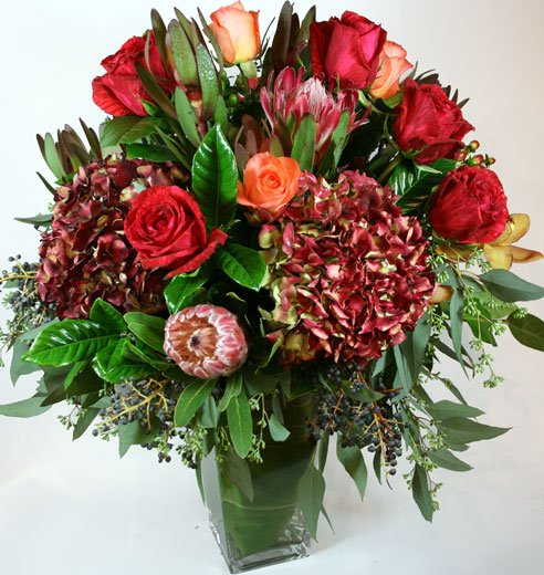 Blakley di Granato Flower Arrangement | San Francisco Florist Since 1871 Free Bay Area and San Francisco Flower Delivery