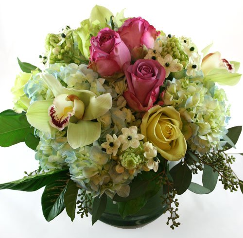 Spring Shower Flower Arrangement | San Francisco Florist Since 1871 Free Bay Area and San Francisco Flower Delivery