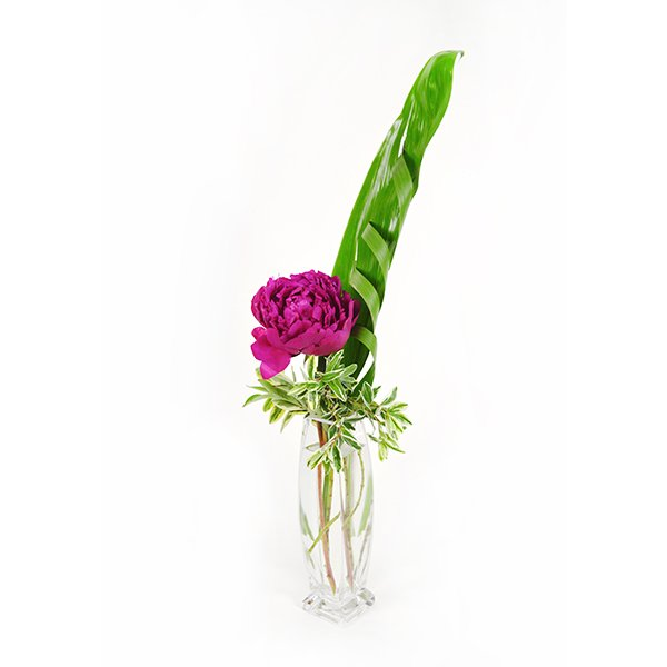 Knotted Peony Flower Arrangement